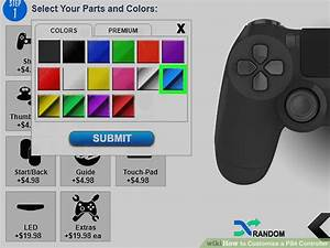 How To Customize A Ps4 Controller  11 Steps  With Pictures