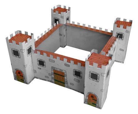 Free Diy Cardboard Castle For Kids  Build Your Own