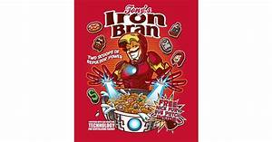 Iron Bran Presenting Your Favorite Superheroes as Cereal