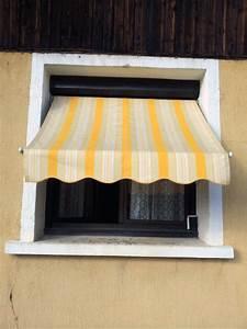 Store Exterieur Fenetre : store banne pour fen tre rayures r alisation solabaie ~ Melissatoandfro.com Idées de Décoration