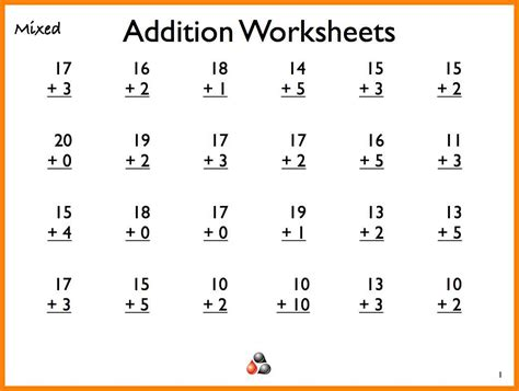 13+ Math Worksheets For 1st Graders  Kylin Therapeutics
