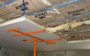 Faux Plafond Autoportant : isolation thermique du plafond isolation france ~ Nature-et-papiers.com Idées de Décoration