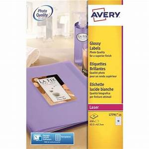 avery 34 x 42mm printer labels laser glossy oval pack With avery glossy label paper