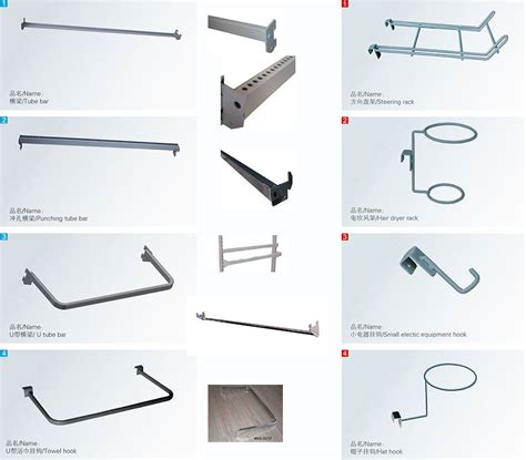 Bar Accessories Shop by Supermarket Gondola Shelving Accessories Hooks For Small