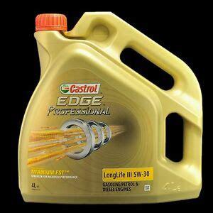 castrol 15669e edge motoröl titanium fst 5w 30 ll 5l castrol edge professional longlife iii 5w 30 fst 4liter audi vw 50400 50700 ebay