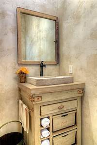 Commode Salle De Bain : meuble salle de bains pas cher 30 projets diy bois vieilli commode en bois et vasque ~ Teatrodelosmanantiales.com Idées de Décoration