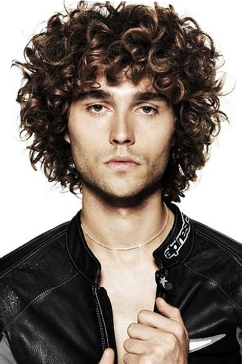 10 curly haired guys mens hairstyles 2018