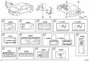 Scion Tc Label  Emission Control Information  Interior
