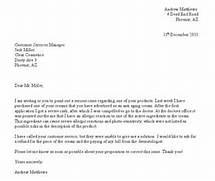 Photo Complaint Letter Example Sample Letters Images 10 Best Images Of Formal Letter Of Complaint Formal Business Letter Sample Writing A Formal Letter Of Writing A Complaint Letter