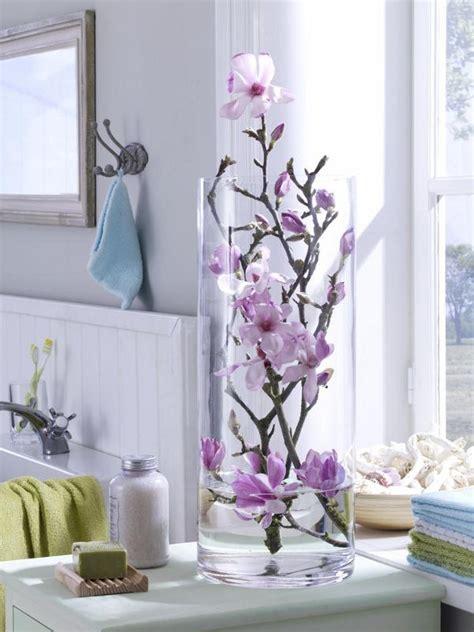 Die Fensterbank Mehr Als Eine Abstellflaeche Fuer Blumen by Bad Deko Zum Selbermachen 953908 Magnolieninderglasvase
