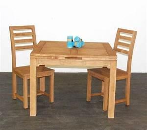 Table Carrée Rallonge : table carr e h v a 2 rallonges mobilier ~ Teatrodelosmanantiales.com Idées de Décoration