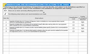 electrical minor works certificate template - electrical condition report template 28 images