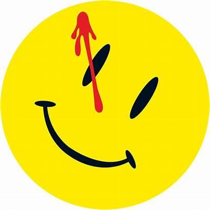 Watchmen Smiley Svg Face Comedian Novel Pixels