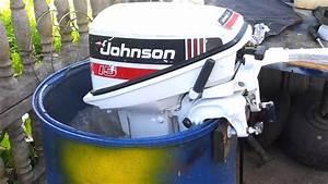 1996 Johnson 15 Hp Outboard Motor 2 Stroke  Dwusuw