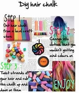 DIY HairChalk On Pinterest Halloween Hair Diy Hair