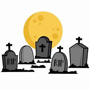 Graveyard SVG scrapbook cut file cute clipart files for ...