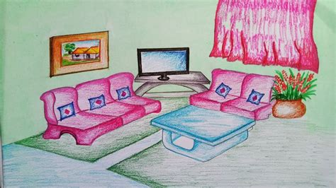 draw drawing roomstep  stepeasy draw youtube
