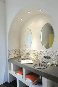 une structure en bloc de beton cellulaire le siporex With siporex salle de bain