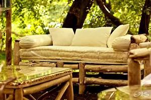 Canape Bois Exterieur : canap en bois flott au clair de lune luminaires bucoliques et mobilier design naturel ~ Teatrodelosmanantiales.com Idées de Décoration