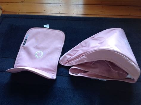 Extendable Boat Canopy by Bugaboo Cameleon Fabric Set Soft Pink Extendable Sun