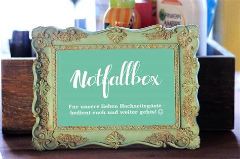 notfallbox schild zum ausdrucken kostenloser