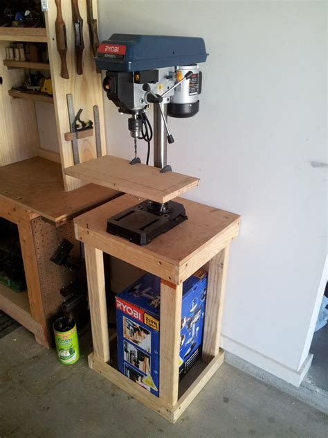 drill press woodworking plans diy  woodshop gun