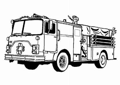 Coloring Truck Pages Semi Fire Boys Soccer