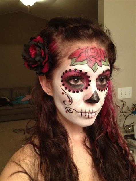 smushy halloween makeup idea inspirations godfather style