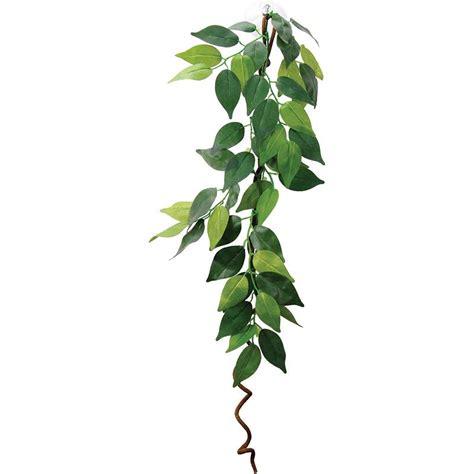 hanging vine plants hanging plant vines vivarium artificial vine decoration 60cm length ebay