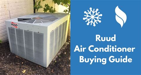 heat and air units prices ruud air conditioner reviews prices buying guide 2018