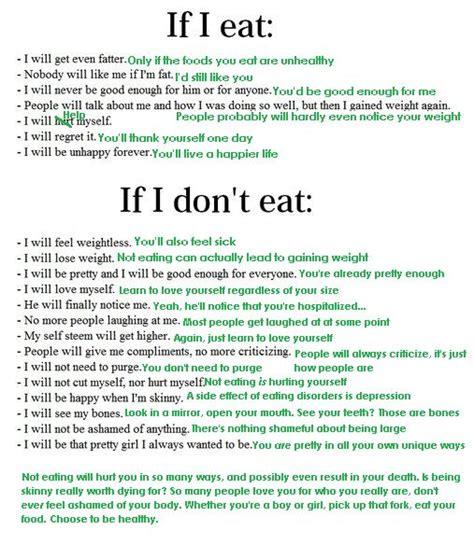 eating disorder poems