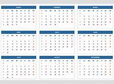 Calendario Escolar 2018 de Colombia Calendario 2018