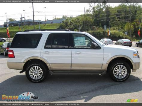 2012 Ford Expedition Xlt by 2012 Ford Expedition Xlt 4x4 Oxford White Camel Photo 5