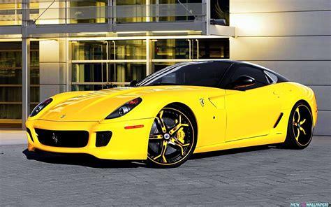 ferrari yellow ferrari 599 asanti yellow cars hd wallpaper