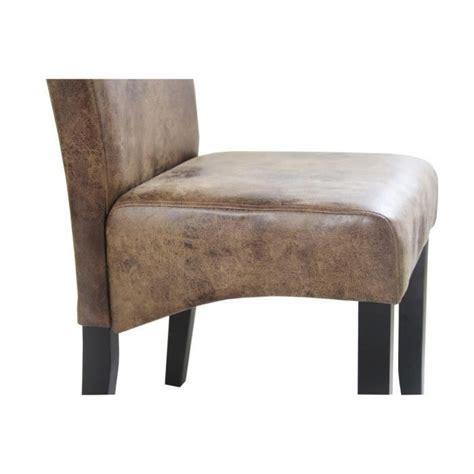 lot de chaise salle a manger cuba lot de 2 chaises de salle à manger style vintage