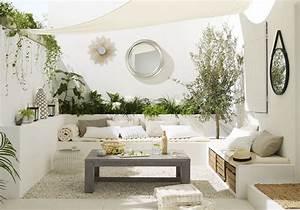 les 5 secrets d39une terrasse relookee a petit prix elle With decoration d une terrasse