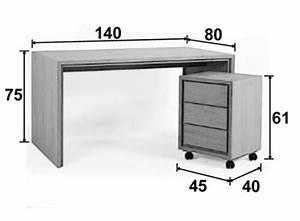 Bureau 140 Cm : bureau multim dia ch ne 140 cm personnalisable groomy 5774 ~ Teatrodelosmanantiales.com Idées de Décoration