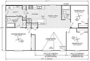 double wide mobile home floor plans fleetwood mobile