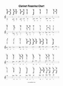 Saxophone Chart Pdf Free Clarinet Chart By Barry Cockcroft Reed Music