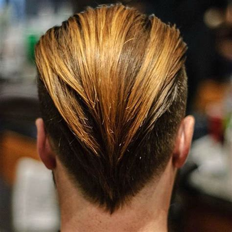 slicked  hairstyles mens haircuts hairstyles