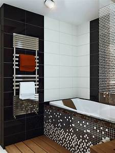 Carrelage Noir Salle De Bain : couleur salle de bain en 55 id es de carrelage et d coration ~ Dailycaller-alerts.com Idées de Décoration