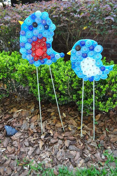 Backyard Items by Creative Decorations With Recycled Items To Turn Your