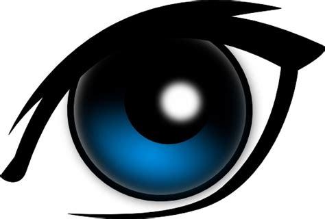 Cartoon Eye clip art Free vector in Open office drawing