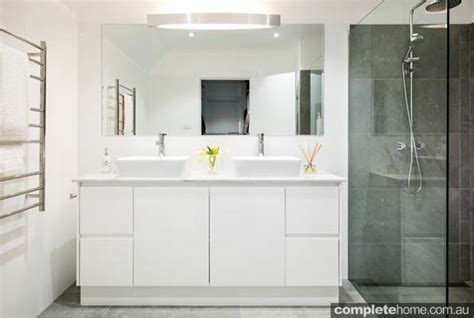 modern update cost effective bathroom renovation