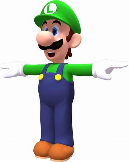 Luigi Render Deviantart Tpose Test Mario Pose