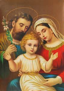Joseph Mary Jesus Mother and Baby