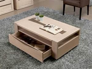 Table Basse Avec Tiroir : table salon avec tiroir table basse et pliante ~ Teatrodelosmanantiales.com Idées de Décoration