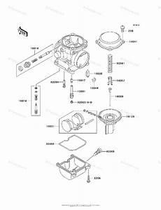 Kawasaki Motorcycle 2002 Oem Parts Diagram For Carburetor