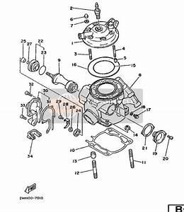 Yamaha Yz250 1987 Cylinder