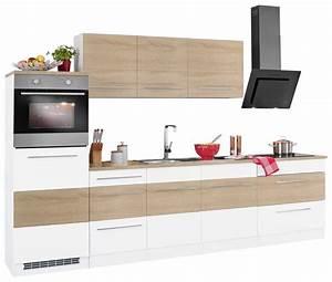Küchenzeile Ohne Hängeschränke : held m bel k chenzeile ohne e ger te trient breite 290 ~ Michelbontemps.com Haus und Dekorationen